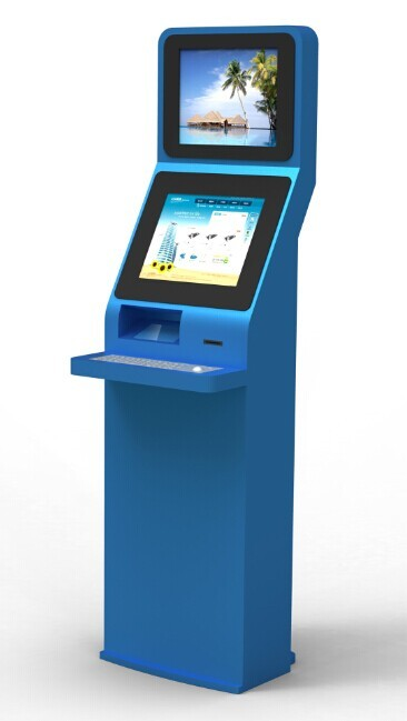 19 Inch Hotel Check In Kiosk Touch Screen Information Kiosk LCD
