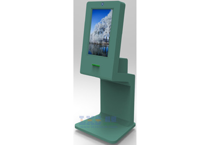 Employees Biometric Recognition Self Check In Kiosk Member Card Reader