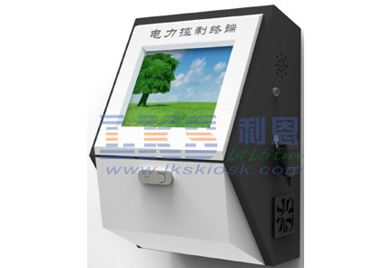 17'' Touch Screen Simple Digital Information Kiosk Computers Display 2GB